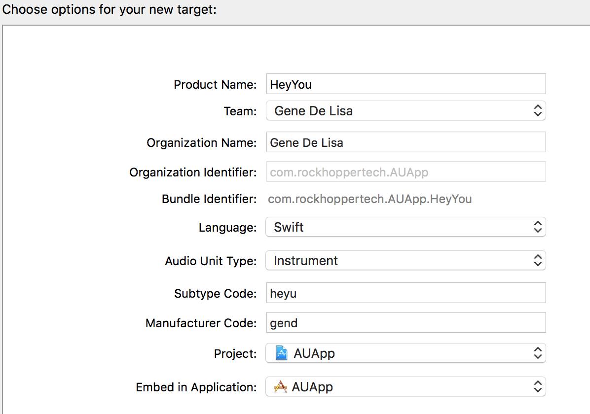 Creating an AUv3 MIDI plugin | Gene De Lisa
